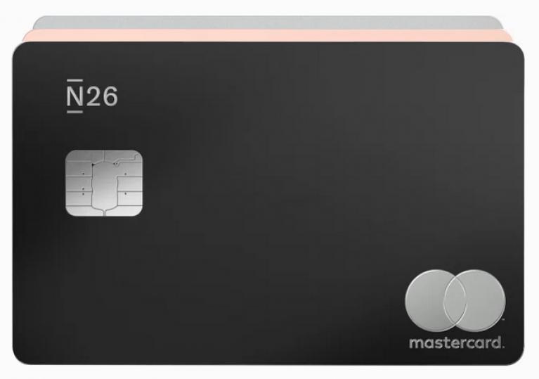N26 Metal Carte France