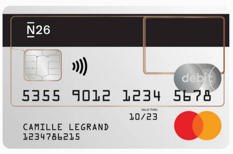 Mastercard N26 Standard Carte Gratuite