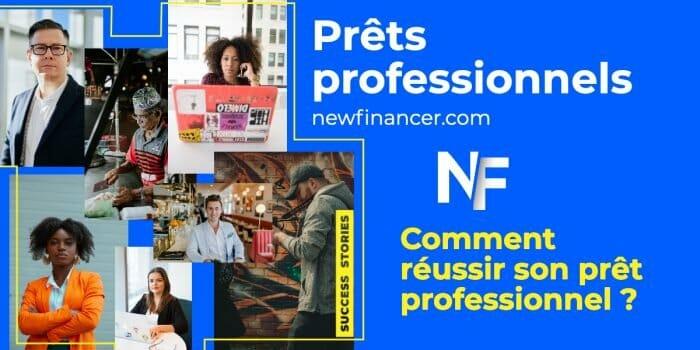 Le prêt professionnel en ligne