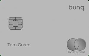 bunq Carte Metal Mastercard Front