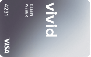 Vivid Money Meta lCard Grey